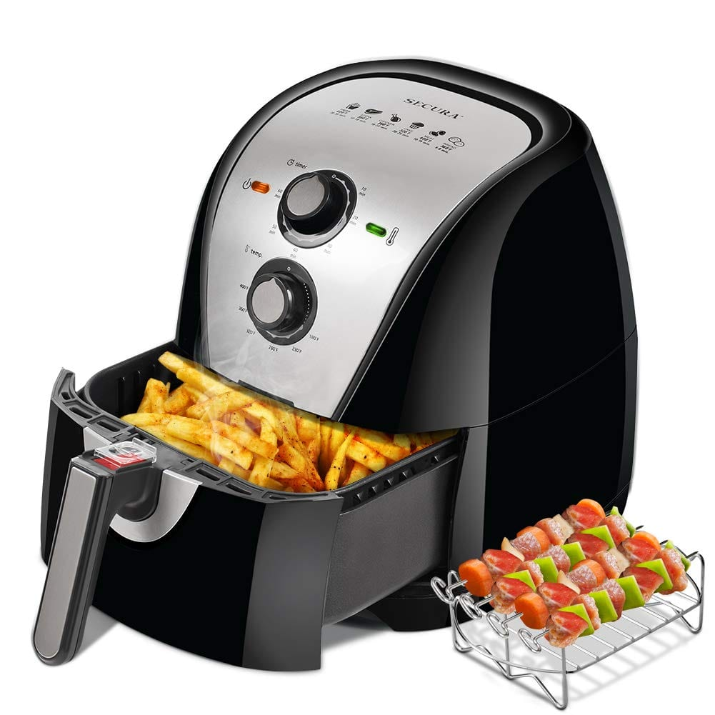 Secura extra-large electric hot air fryer