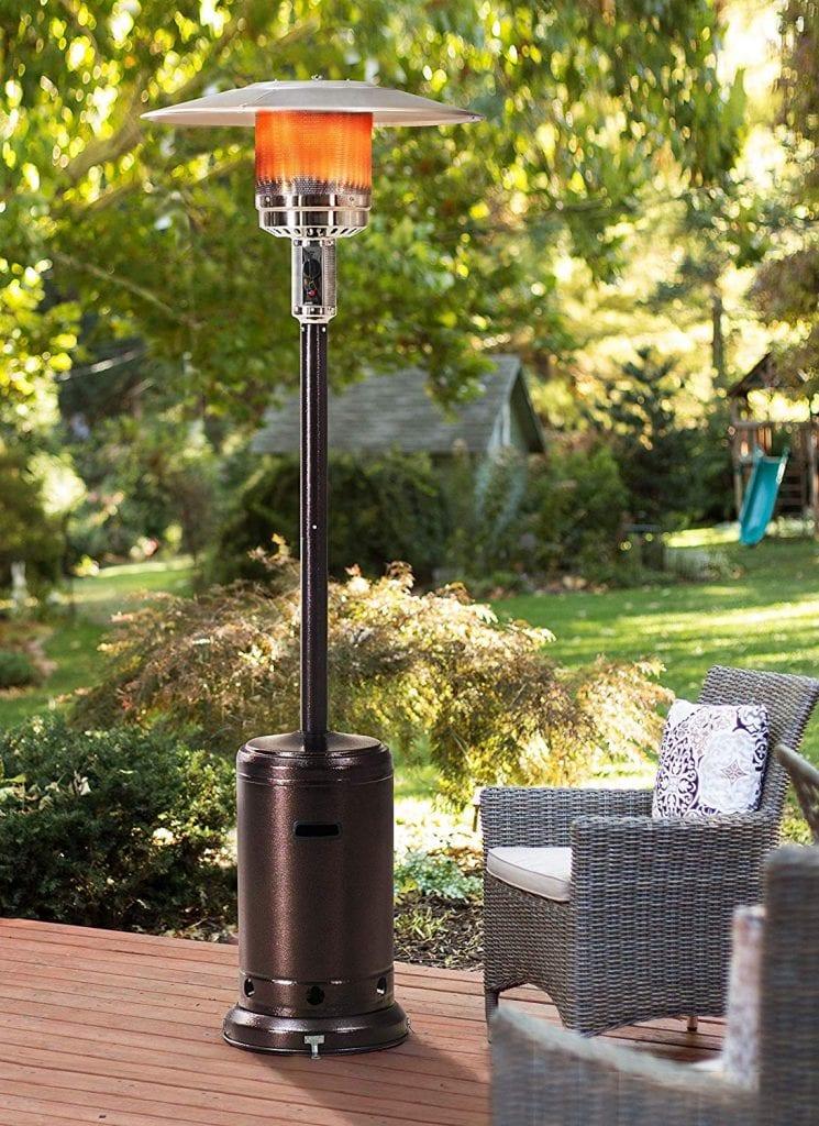 Sunjoy Lawrence Floor-Standing Outdoor Patio Heater