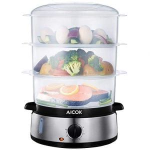 Fast Heating Electric Steamer by Aicok