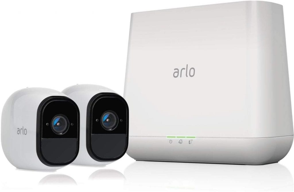 Arlo Pro – Wireless Home Security Camera System with Siren