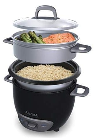 Pot-Style Rice Cooker and Food Steamer by Aroma Housewares