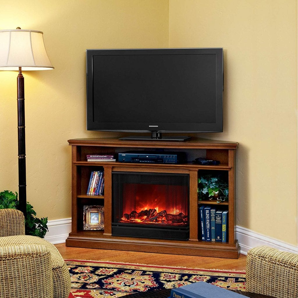 Churchill Electric Fireplace by Real Flame