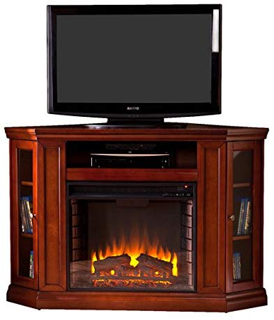 Electric Fireplace TV Stand by Alcott Hill