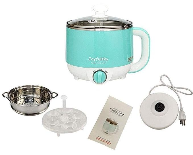 Electric Hot Pot with Food Steamer by Joyfulsky