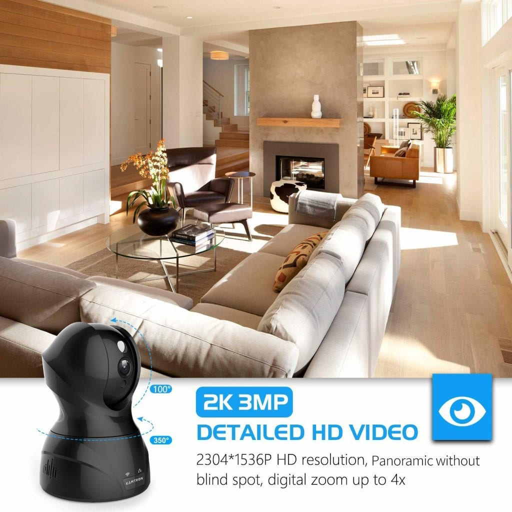 Security Camera Pet WiFi Camera
