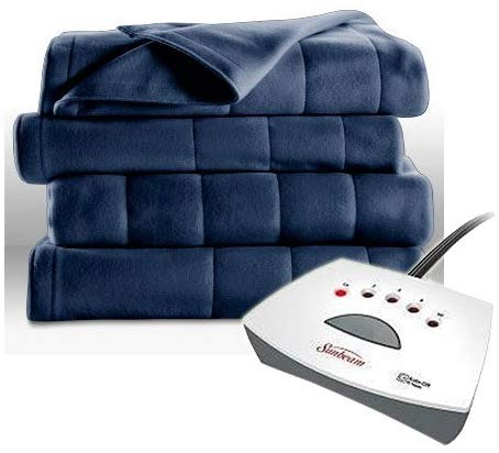 Sunbeam Fleece Heated Blanket