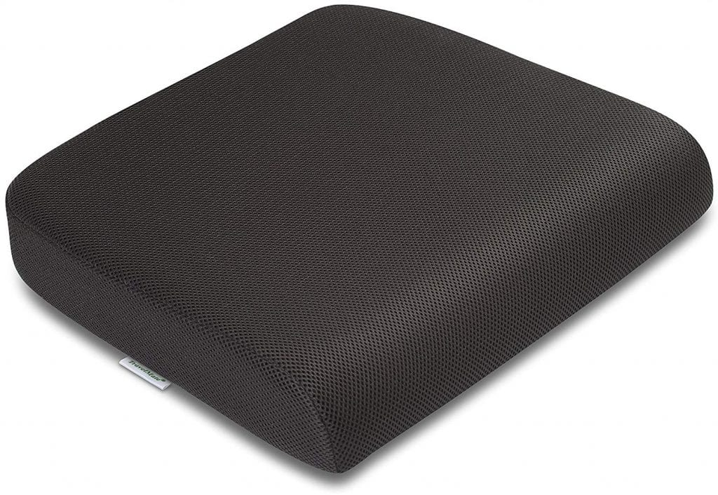 TravelMate Extra-Large Memory Foam Seat Cushion