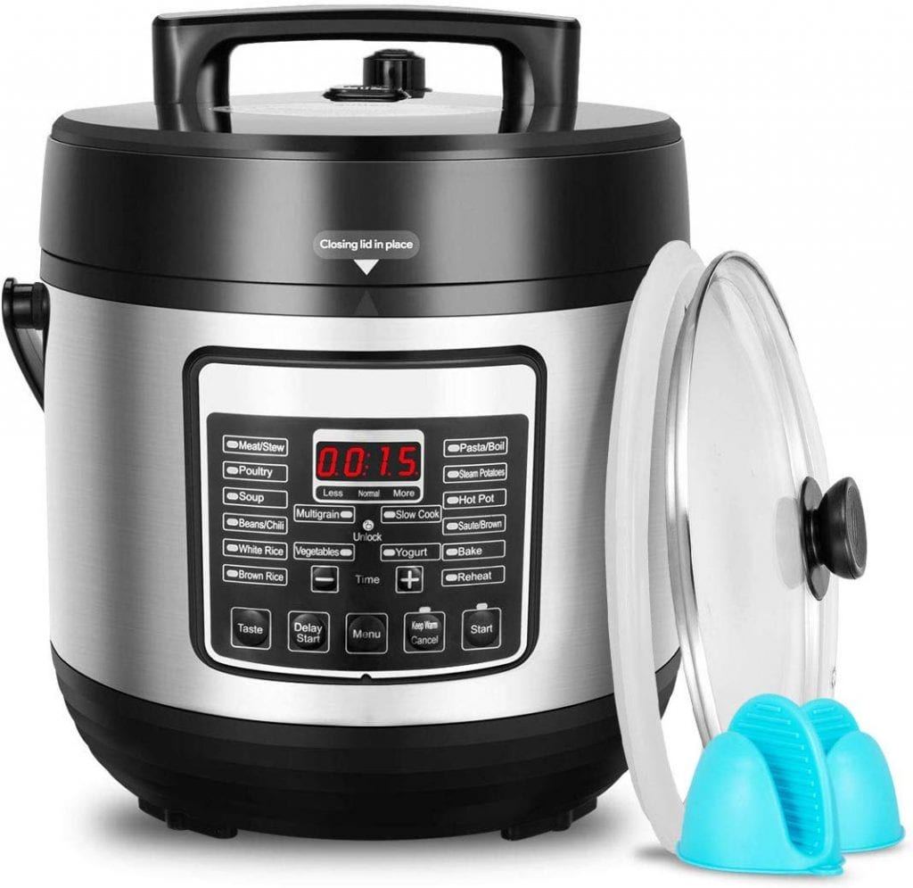 DEENKEE 10-in-1 Multi-Function Pressure Cooker