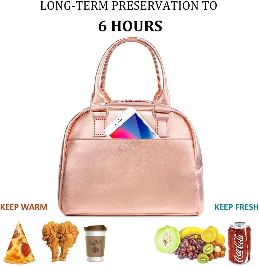 Lunch Bag for Women by LOKASS