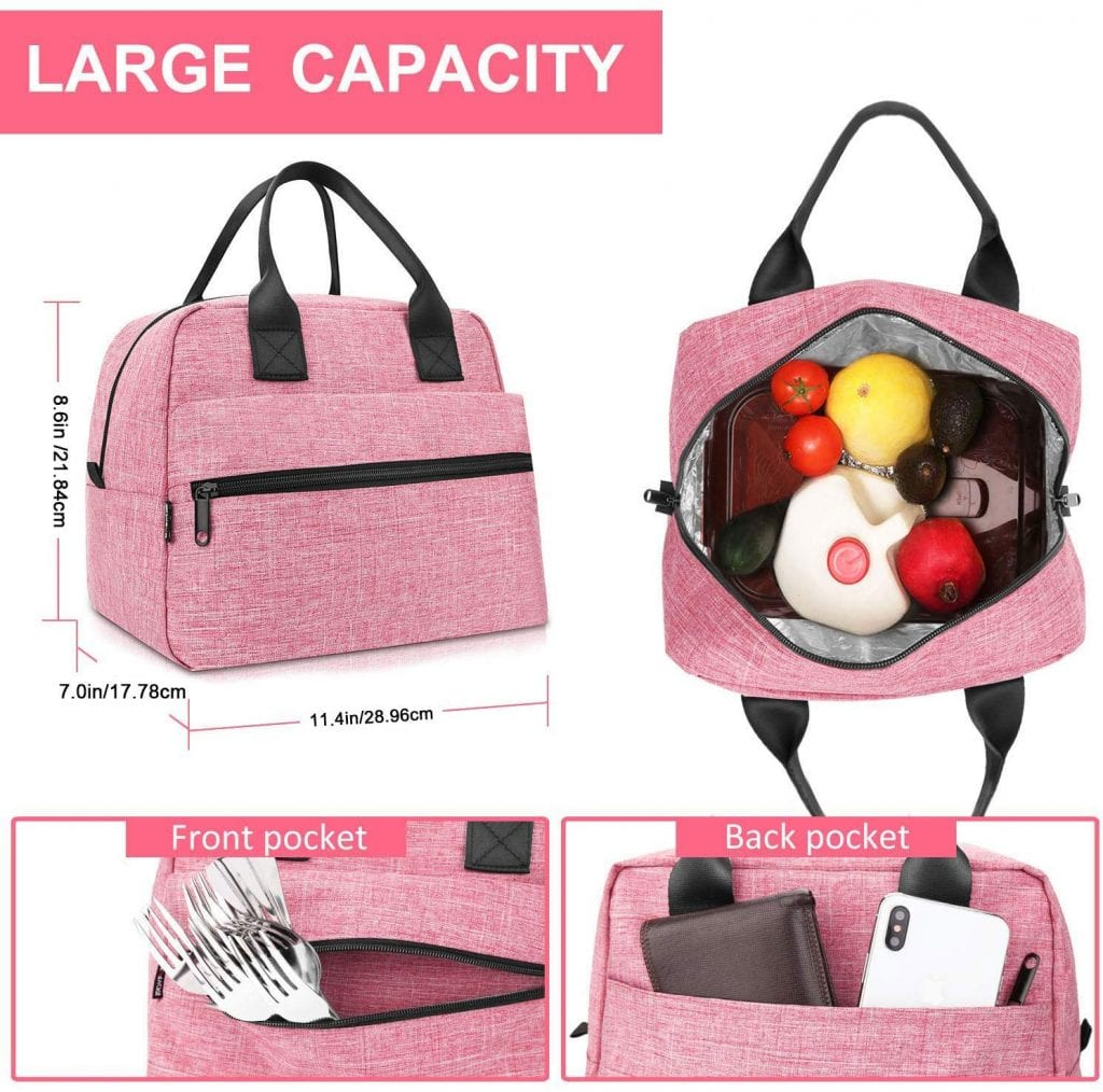 Lunch Bags for Women by EasyFun
