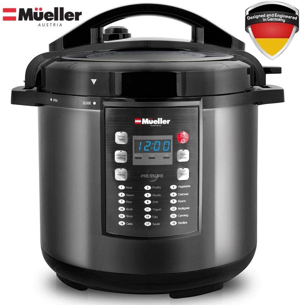 Pressure Cooker Instant CrockBy Mueller Austria