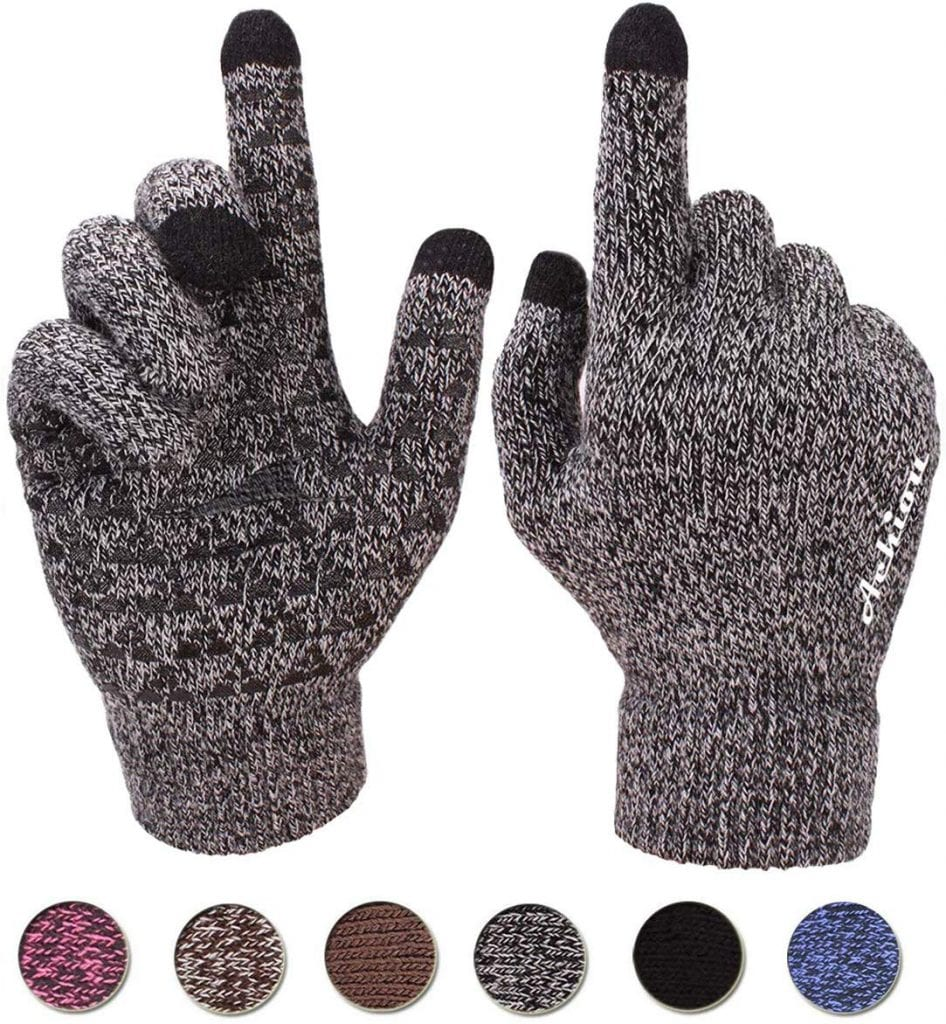 Achier Winter Knit Gloves