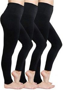 CakCton Fleece Lined Winter Leggings