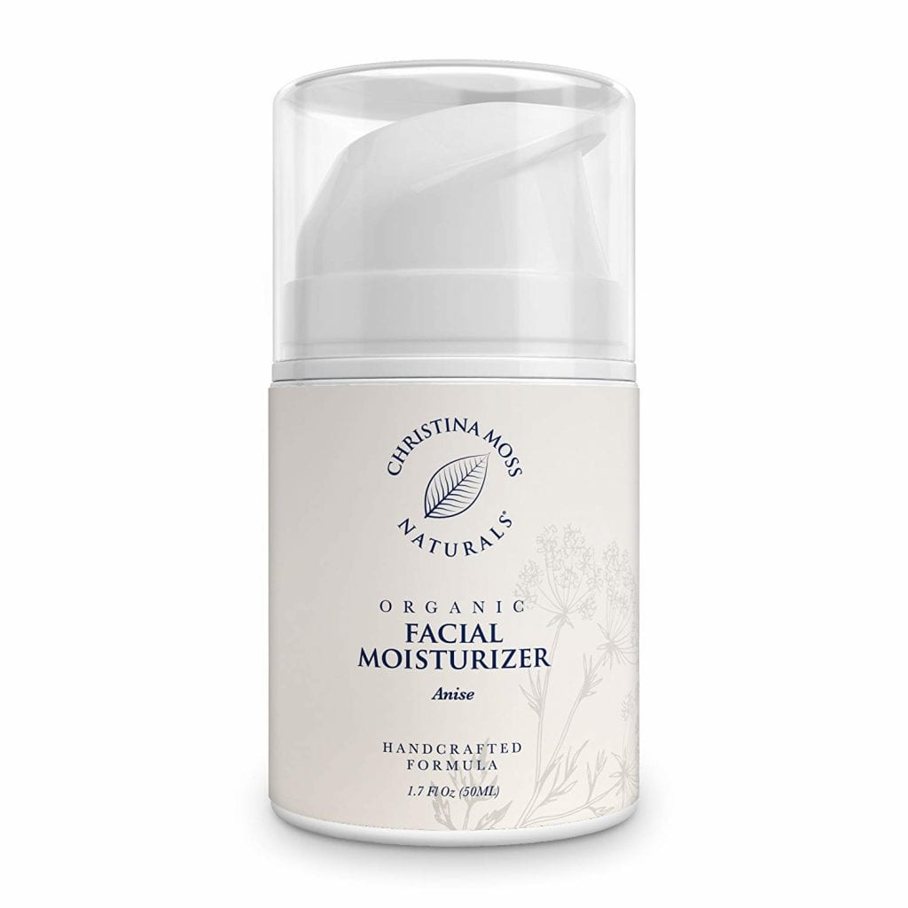 Christina Moss Naturals Organic Faial Moisturizer for All Skin Types