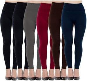 Diravo Fleece Lined Leggings for Women