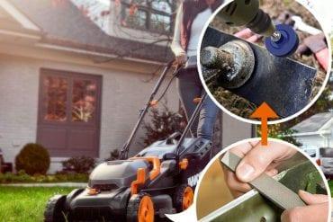 Lawn mower Blade Sharpeners