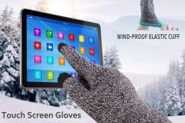 Touch Screen Winter Gloves for Men