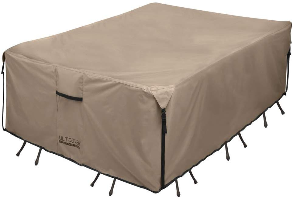 ULTCOVER Rectangular Patio Table Cover