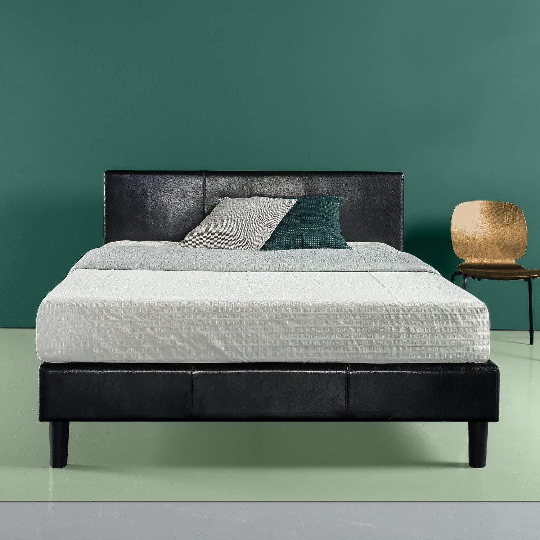 Zinus Leather Platform Bed