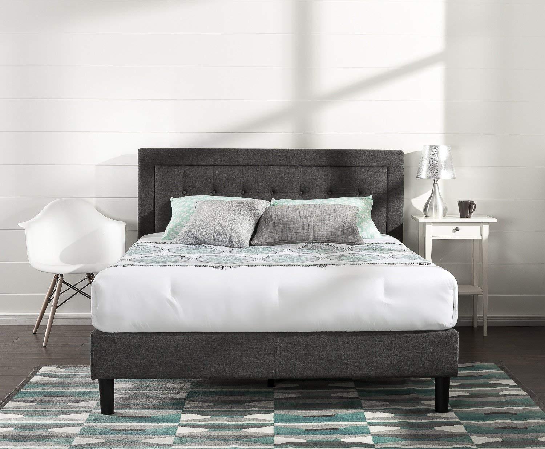 Zinus Tufted Platform Bed
