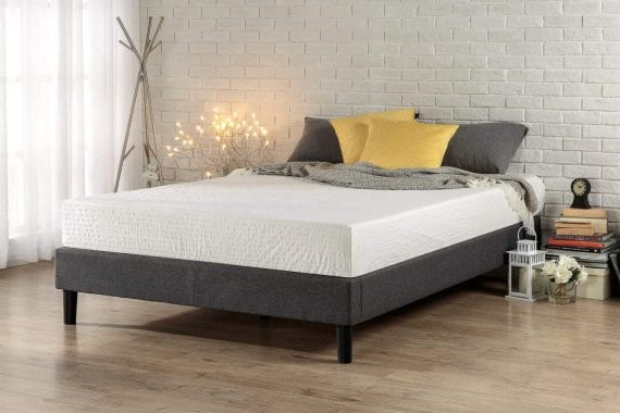 Zinus Upholstered Platform Bed