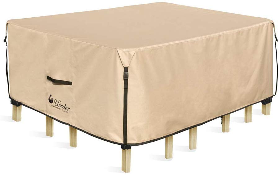 pool spa part Rectangular Patio Heavy Duty Table Cover