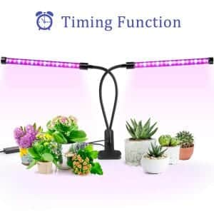 Ankace 40W LED Grow Lights for Indoor Plants with Red Blue Spectrum