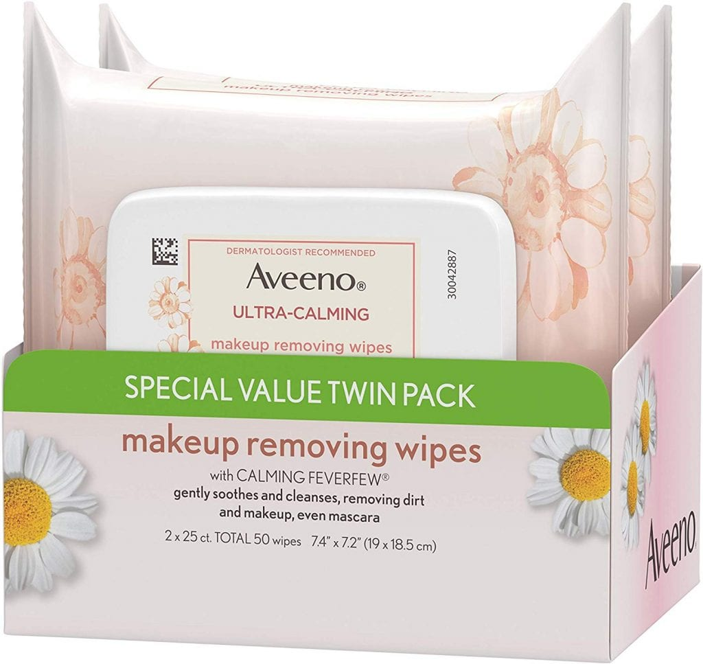 Aveeno Makeup Removing Wipes