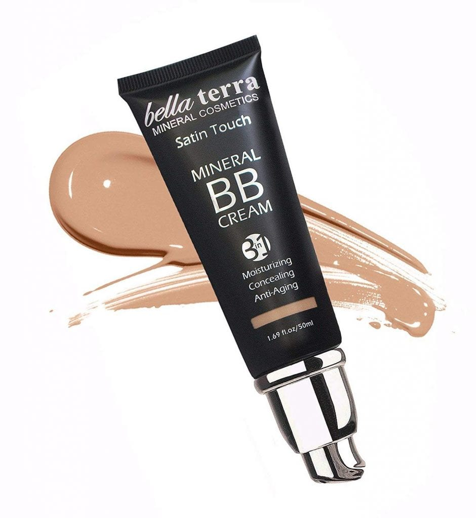 Bella Terra Cosmetics BB Cream Matte finish 3-in-1 Mineral Makeup Foundation