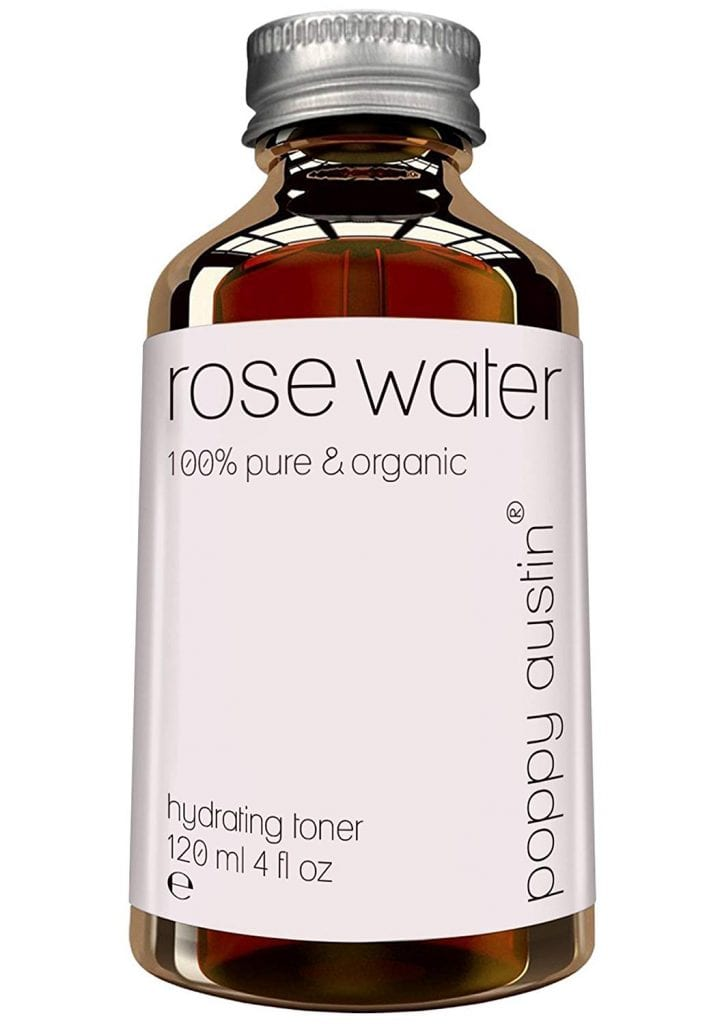 Poppy Austin Facial Pure Rose Water Toner
