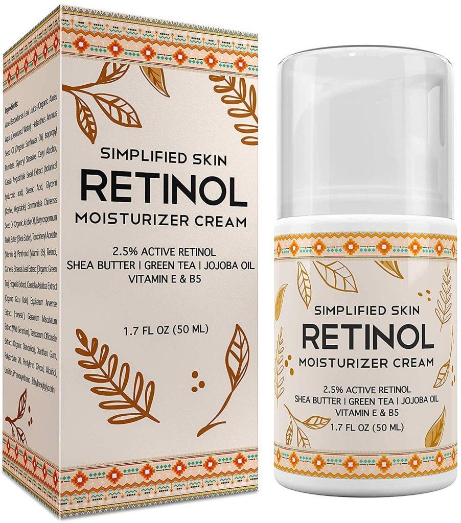 Retinol Moisturizer Cream By Simplified Skin