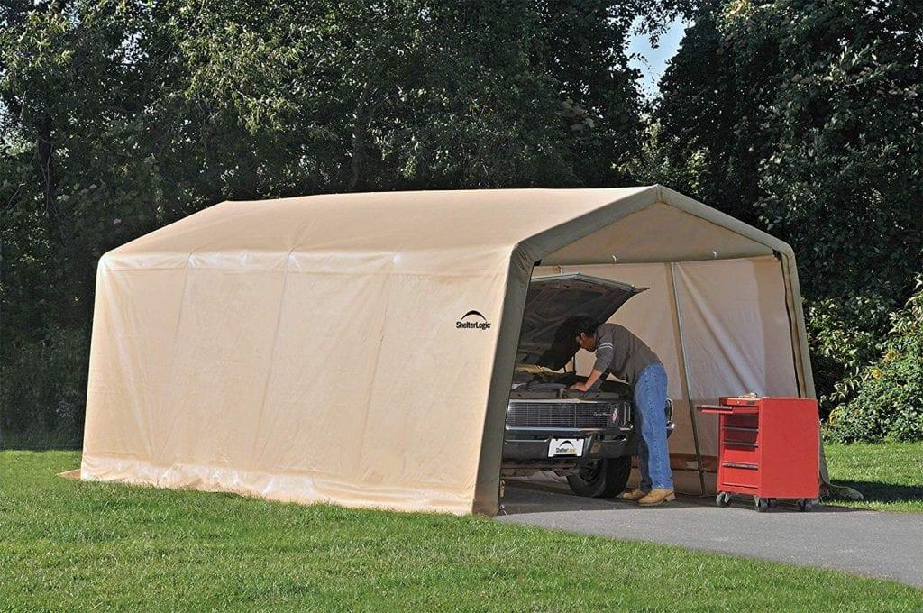ShelterLogic Waterproof and UV-Treated