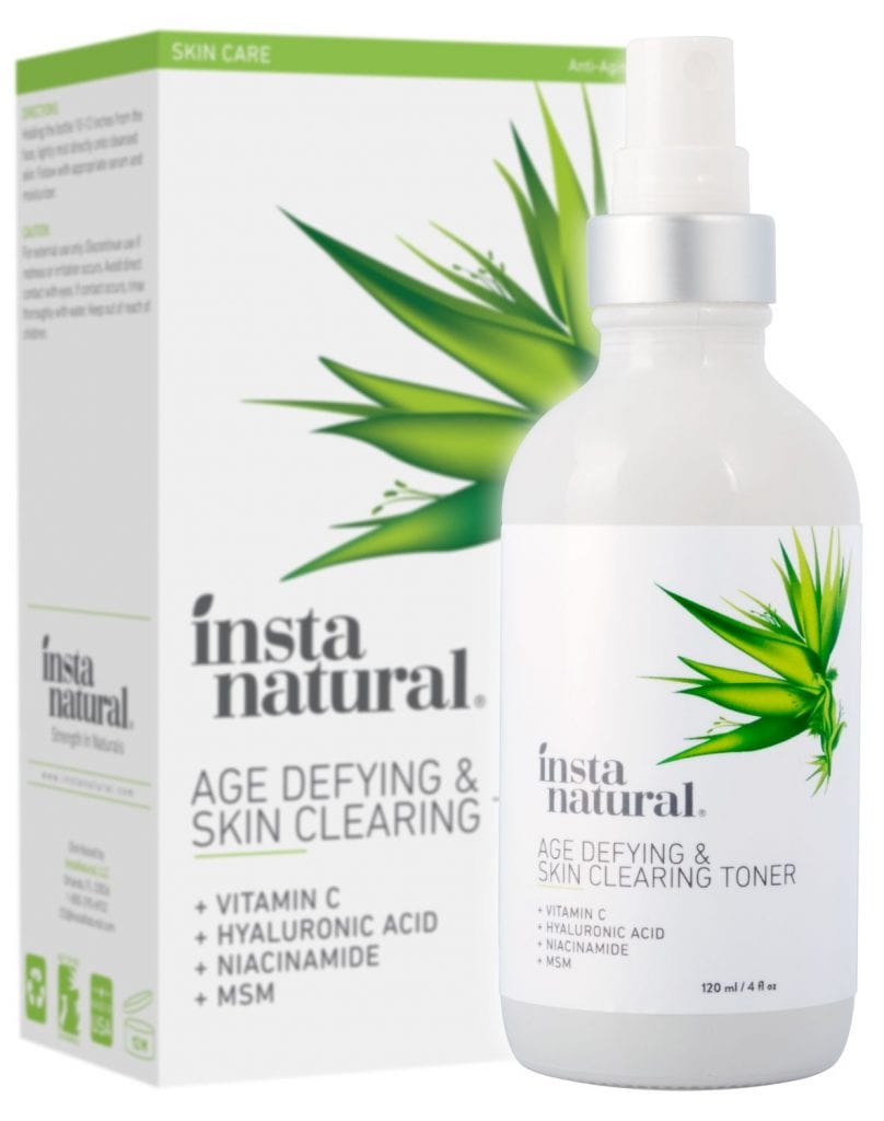 Vitamin C Insta Natural Skin Clearing Face Toner
