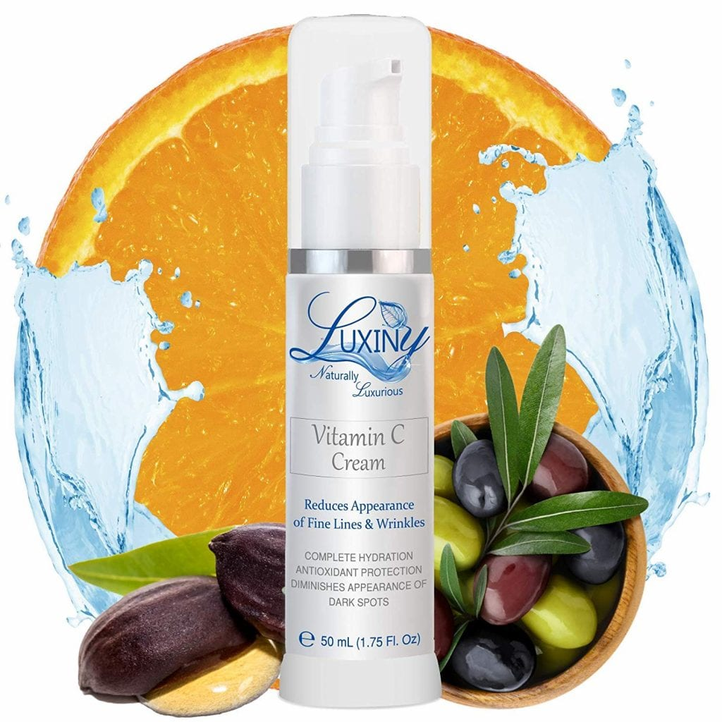 Vitamin C Moisturizer for Face & Neck by Luxiny Products
