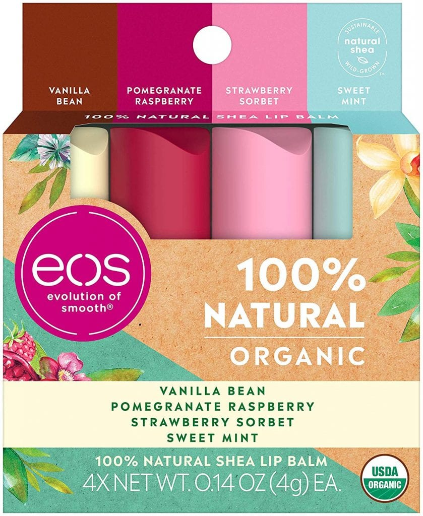 eos Natural & Organic Stick Lip Balm - Variety Pack
