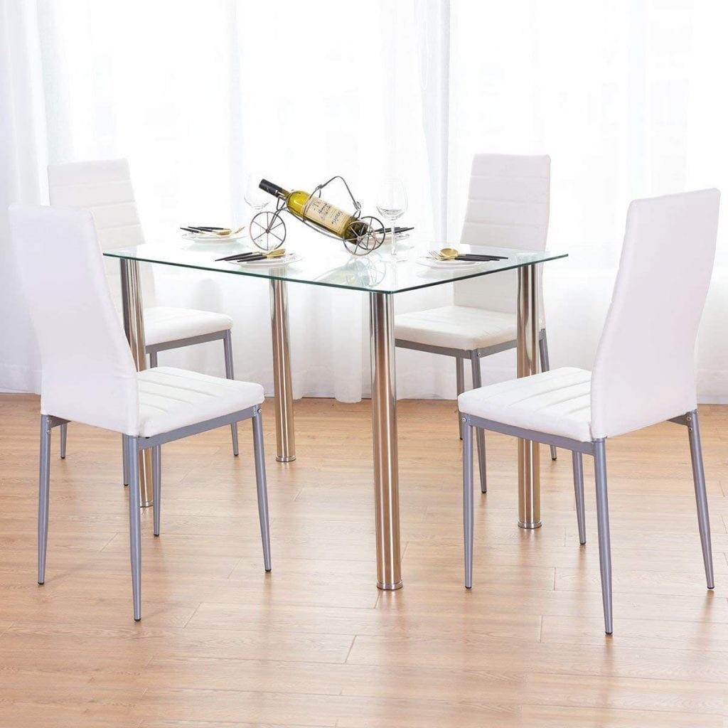 Amailtom Dining Room Table Set
