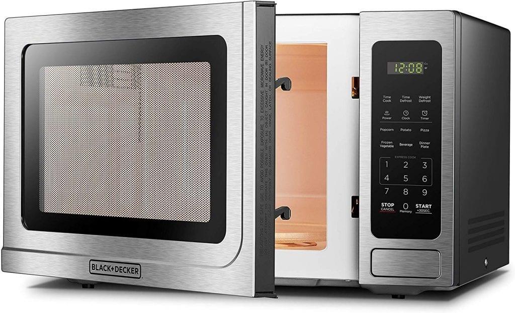 BLACK+DECKER EM036AB14 Digital Microwave Oven