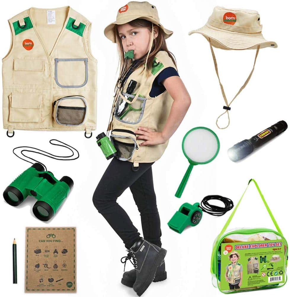 Born Toys Explorer Kit (Outdoor – Boys & Girls)