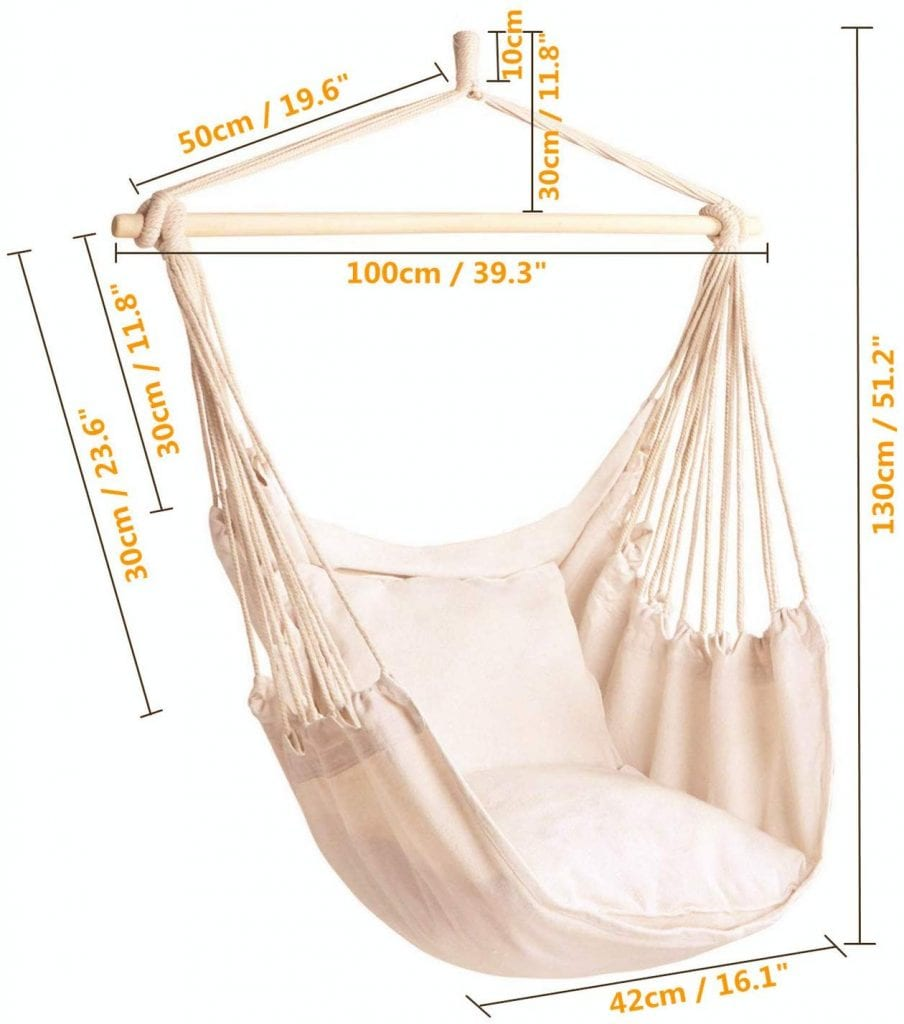 CCTRO Hanging Hammock Chair