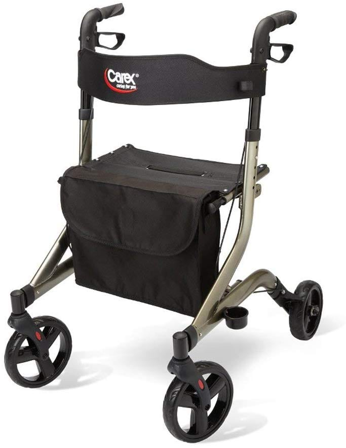 Carex foldable Walker with Seat