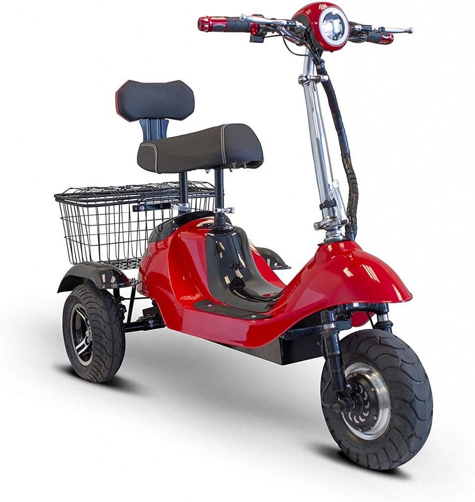 EW 19 SPORTY Three-Wheel Electric Scooter