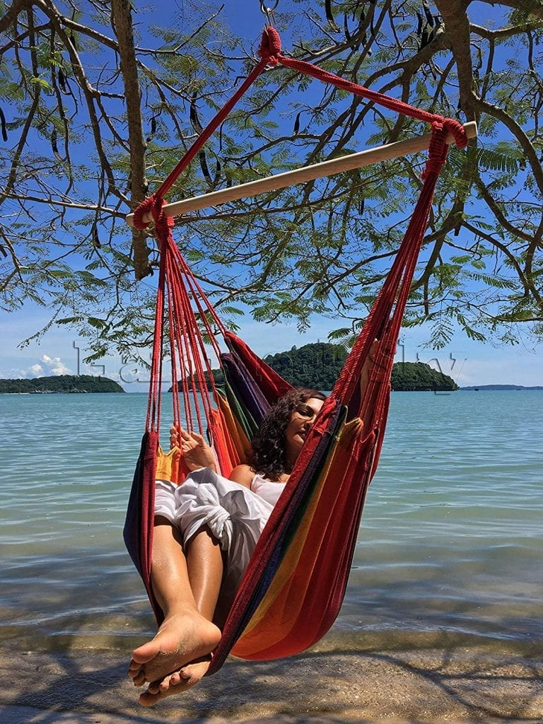 Hammock Sky Large Brazilian Hanging Hammock Chair