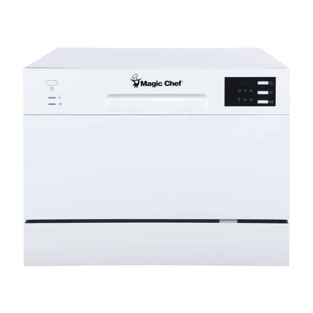 Magic Chef 6 Plate Energy Star Countertop Dishwasher