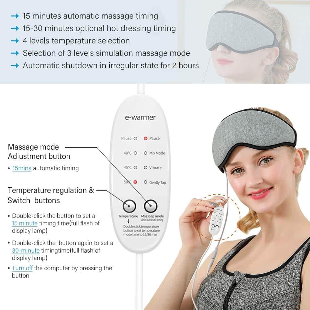 Manfiter Waterproof Eye Massager