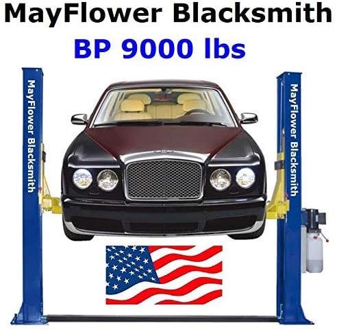 Mayflower Blacksmith Base Plate Two Post Lift Car Lift 9000