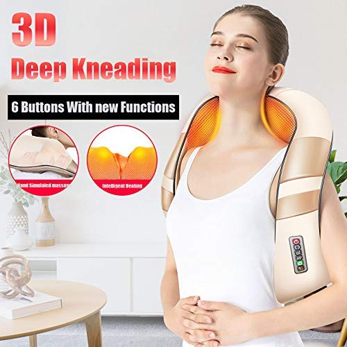 QIANJING Neck And Back Kneading Massager