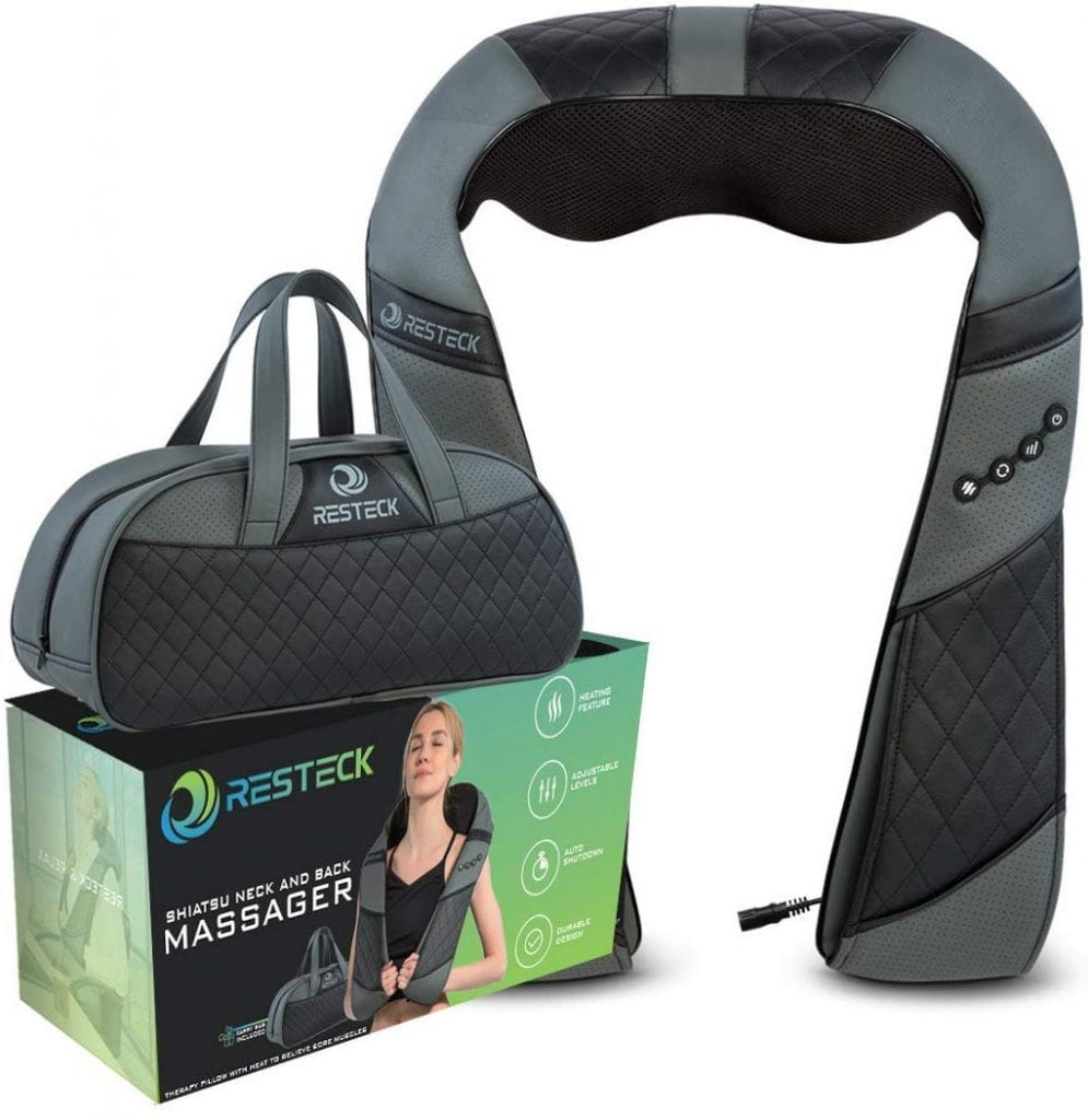 RESTECK Back And Neck Massager With A Heating Effect