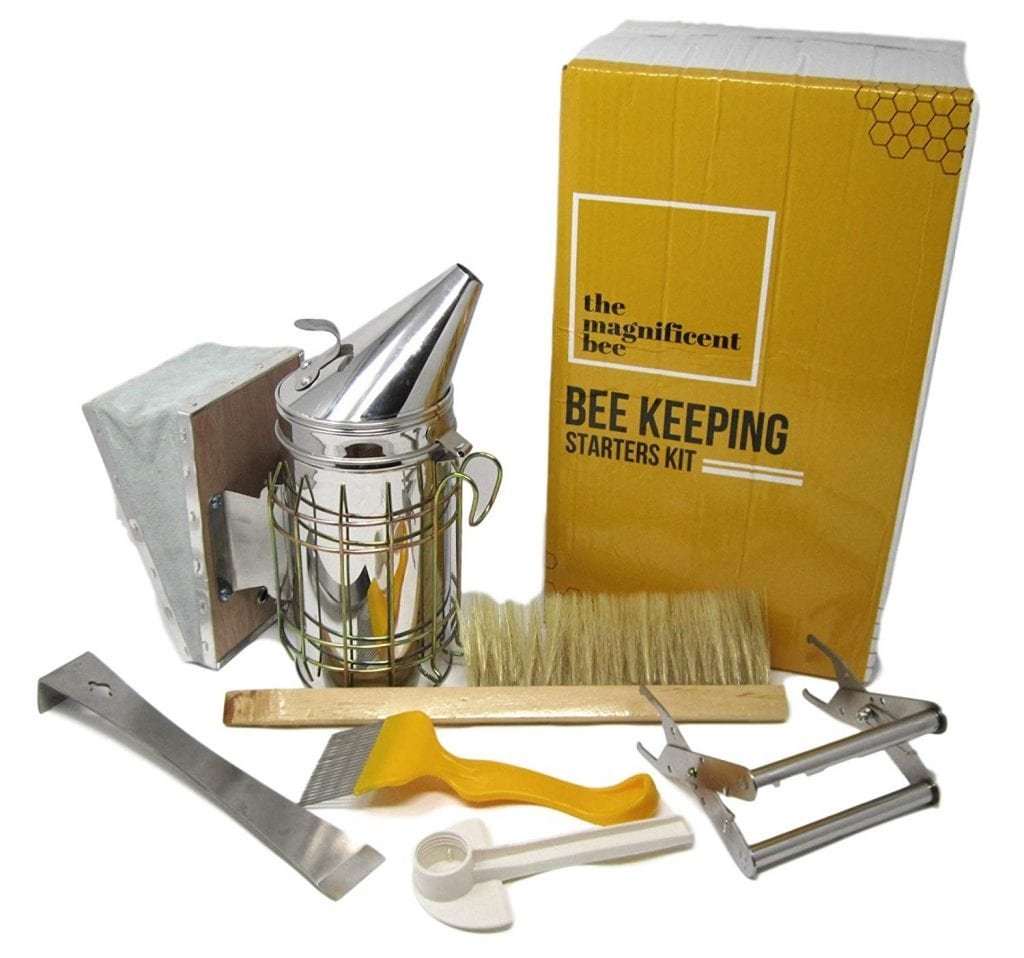 The Magnificent Bee 6PC Beekeeping Starters Kit