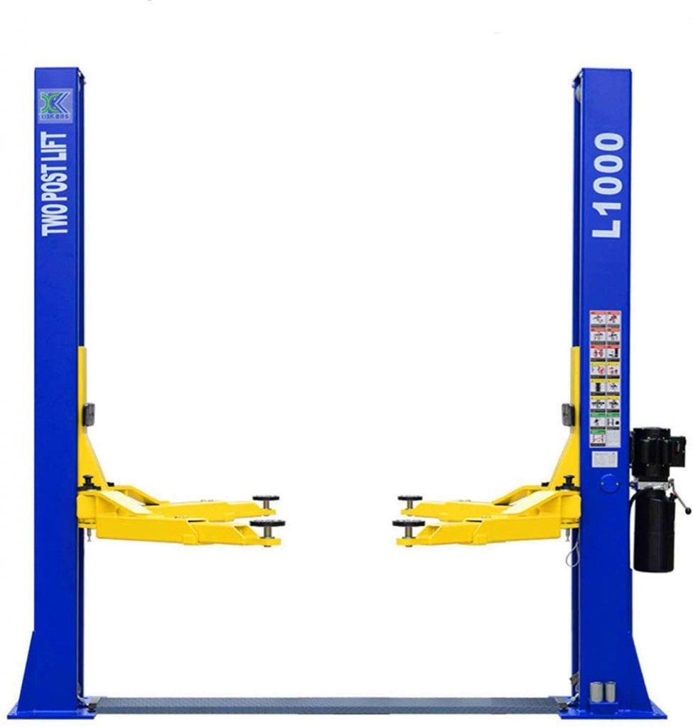 XK USA L1000 10,000LBS 2 Post Lift Car Hoist