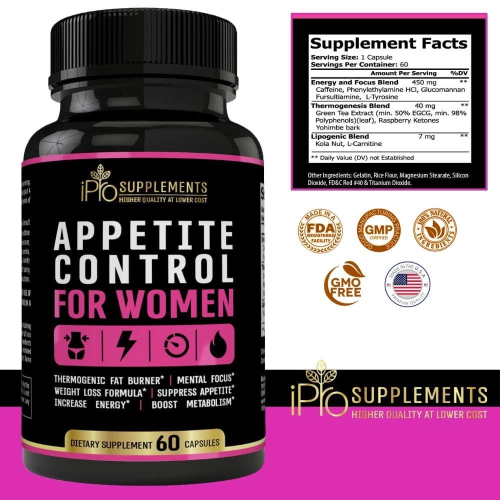 Appetite Control For Women Appetite Suppressant